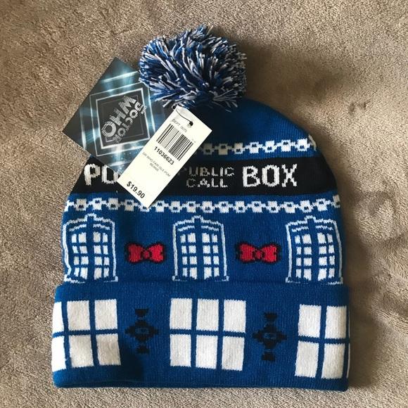 Women s Doctor Who beanie   stocking cap 7f9baa18e2fb